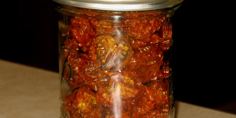 Sundried Tomatoes (Prize of the Trials cherry tomatoes)