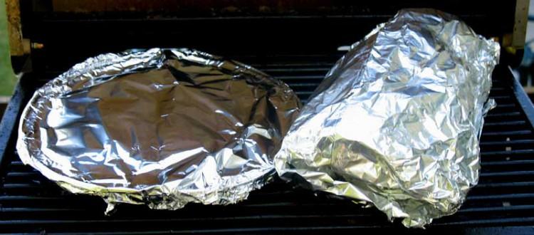 Grilling Ratatouille and Garlic Bread