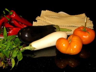 Eggplant Lasagna Ingredients