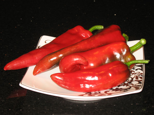 Red Marconi Sweet Pepper