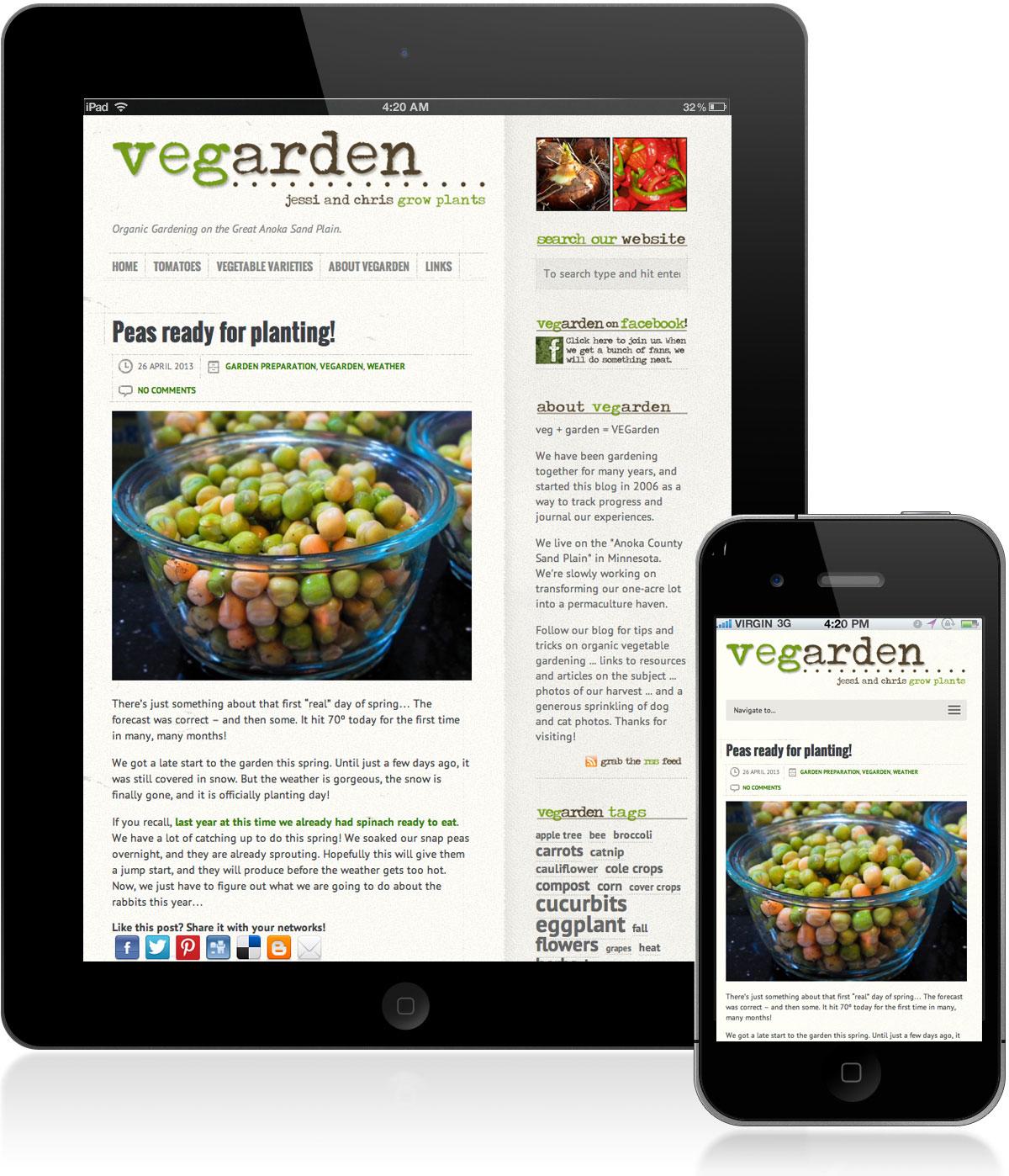 Vegarden Now Mobile Vegarden