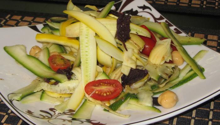 Fresh Zucchini Salad